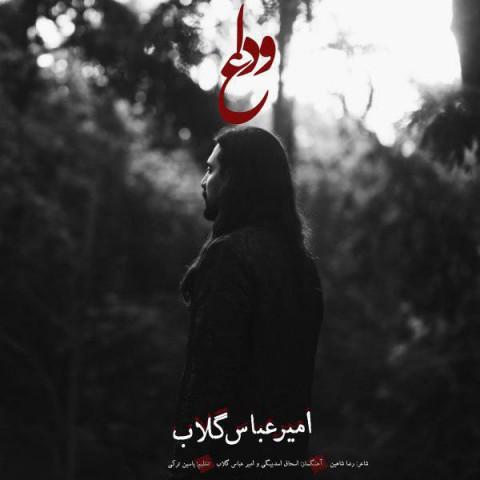 امیر عباس گلاب - وداع